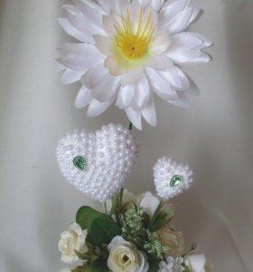 Топиарий с цветком лотоса