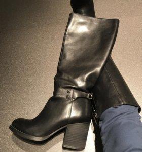 Сапоги Paolo Conte кожаные