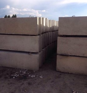 Фундаментные блоки и шлакаблоки