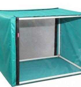 Клетка-вольер Ладиоли 55 x 55 x 55 см для кошек
