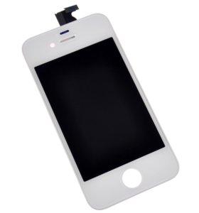 """Дисплей для """"iPhone"""" 4S черный , белый"""