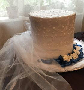 Свадебная шляпа для машины невесты
