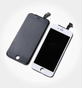 """Дисплей для """"iPhone"""" 6 черный , белый"""