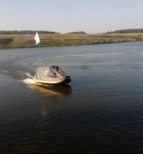 Лодка с мотором джэт марин 9,9