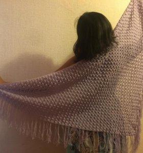 Мягкие вязаные шали