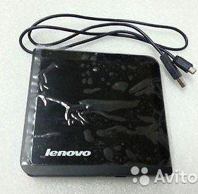 Новый внешний DVD RW Lenovo dvd burner 0A33988