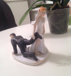 Фигурка для свадебного торта