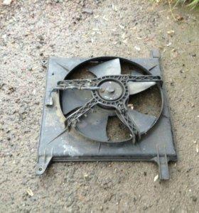 Вентилятор охлаждения нексия