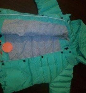 Новая курточка ,осень-зима .на 5-7 лет