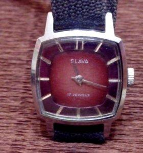 Часы Слава Slava 1601/5908945 СССР на ходу