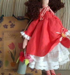 Кукла-тильда Фрида