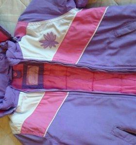 Куртка 3в1 116-122р