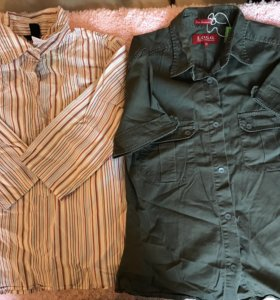 Блузы и рубашки, топы и футболки