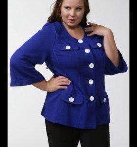 Новый женский пиджак 54 размер