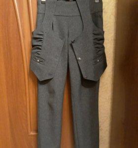 Школьный жилет и брюки