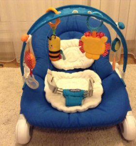 Кресло-качалка (шезлонг) Chicco Hoopla