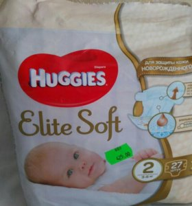 Huggies Elite Soft от 3-6 кг