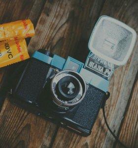 Плёночный Фотоаппарат Diana F+