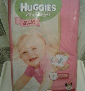Подгузники Huggies 4 (хаггис) 66 шт