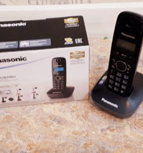 Panasonic KX-TG1611- цифровой беспроводной телефон