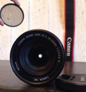 СРОЧНО! Объектив Canon 18-135mm+Phottix
