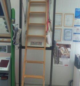 Лестница выкидная