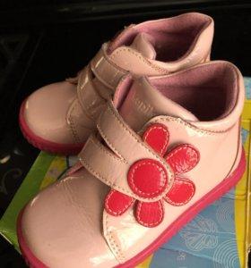 Ботинки Kapika для девочки размер 22