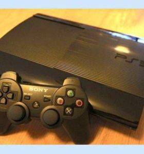PlayStation 3 super slim 500 gb + геймпад!