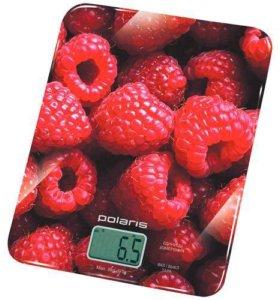 Кухонные весы POLARIS PKS 0832DG Raspberry