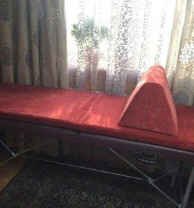 матрас и подушка под ноги на косметическую кушетку