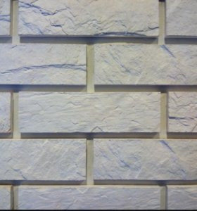 Декор.Камень Кирпич Каменный (белый)