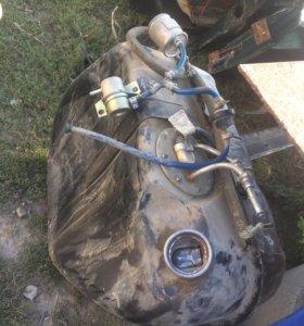 Проводка с мозгами , бак с насосом , инжектор 2107