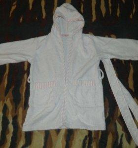 Детский махровый халат (98 размер)