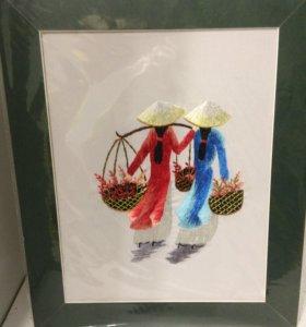 Продаю новую картину ручной работы из Вьетнама