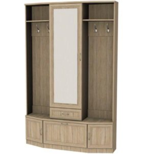 Шкаф для прихожей с зеркалом 600