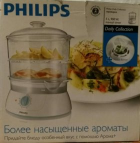 Пароварка Philips HD9110