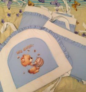 Бортики в детскую кровать