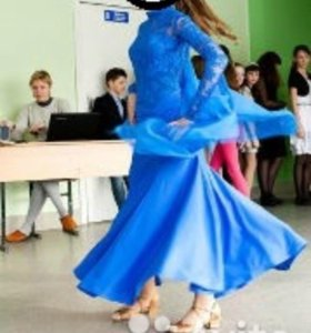 Платье для бальных-спортивных танцев, стандарт