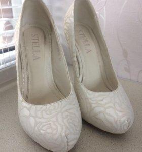 Свадебные туфли 33 размер