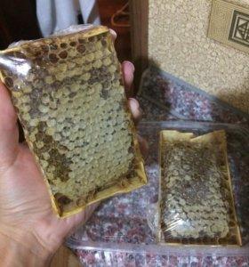 Мёд в мини-сотах