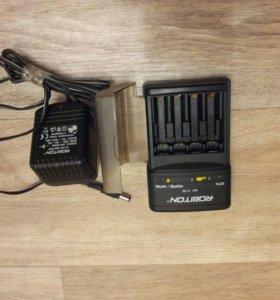 Зарядное устройство ААА и АА аккумуляторов