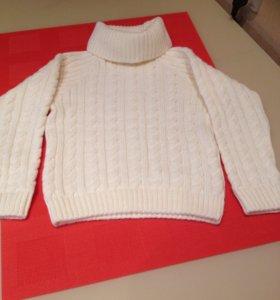 Новый свитер на 4-5 лет