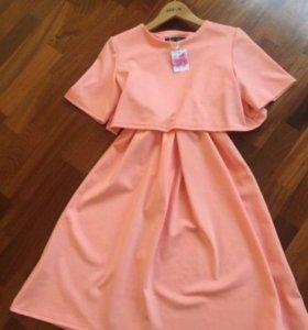 Платье с секретом для кормления грудью