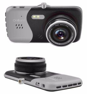 Двухкамерный видеорегистратор Full HD Oncam T810
