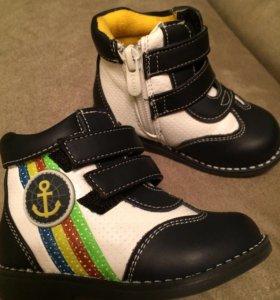 Ботинки СКАЗКА размер 20 для мальчика б/у