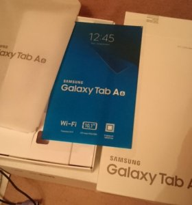Упаковка Galaxy Tab A6