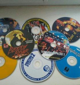 Диски для PS1 и PC