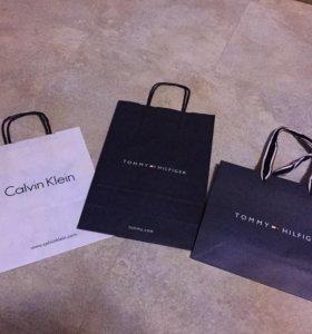 Пакеты от брендовых вещей