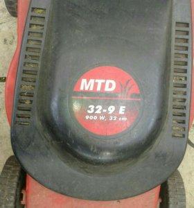 Газонокосилка MTD 900 Вт