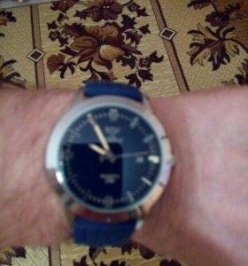 Часы Язоллэ водонепр.календарь.Ремешок в подарок.